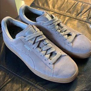 Kids Suede Low Top Puma Shoes